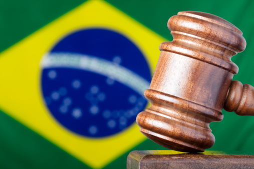Politics「Selective focus image of gavel against Brazil flag」:スマホ壁紙(0)