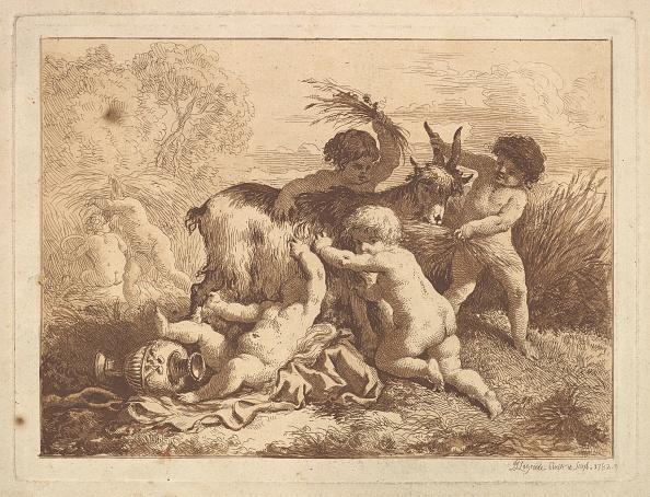 18th Century Style「Les Petits Moissonneurs Et La Chevre (The Young Harvesters And The Goat)」:写真・画像(10)[壁紙.com]