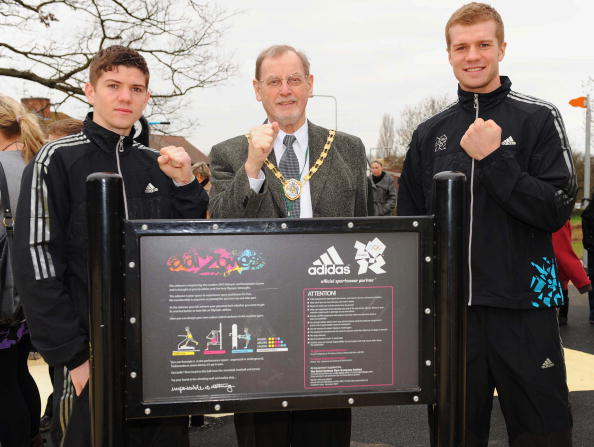 Boxer Luke Campbell「adiZone Launch」:写真・画像(14)[壁紙.com]