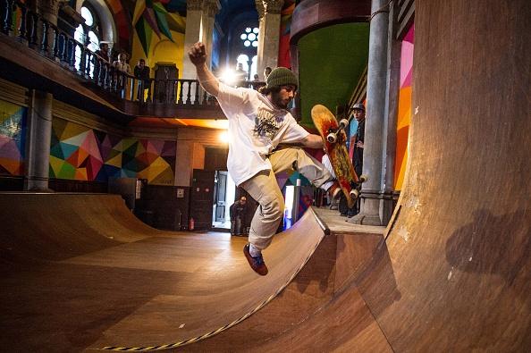 Skateboard Park「Empty Church Hosts A Skate Park In Oviedo」:写真・画像(11)[壁紙.com]