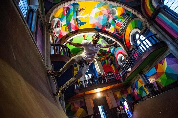 Skateboard Park「Empty Church Hosts A Skate Park In Oviedo」:写真・画像(2)[壁紙.com]