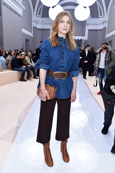 Chloe - Designer Label「Chloe : Front Row  - Paris Fashion Week Womenswear Fall/Winter 2017/2018」:写真・画像(15)[壁紙.com]