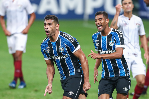 Campeonato Brasileiro Série A「Gremio v Fluminense Play The First Round of the 2020 Brasileirao Series A Amidst the Coronavirus (COVID - 19) Pandemic」:写真・画像(11)[壁紙.com]