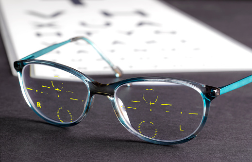 Optometrist「Optician's measurements marked on glasses」:スマホ壁紙(13)