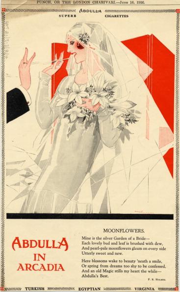 朝顔「Abdulla Cigarettes, 1926. From Punch or the London Charivari, June 16, 1926.」:写真・画像(10)[壁紙.com]