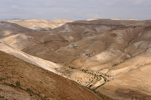 Arid Climate「Judean Desert near Bethlehem」:スマホ壁紙(5)