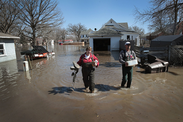 Scott Olson「Flooding Continues To Cause Devastation Across Midwest」:写真・画像(15)[壁紙.com]