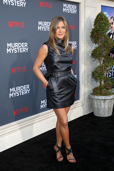 "Leather「Netflix World Premiere Of ""Murder Mystery""」:写真・画像(7)[壁紙.com]"