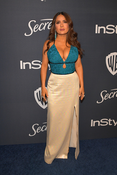 Cut Out Dress「The 2020 InStyle And Warner Bros. 77th Annual Golden Globe Awards Post-Party - Red Carpet」:写真・画像(4)[壁紙.com]