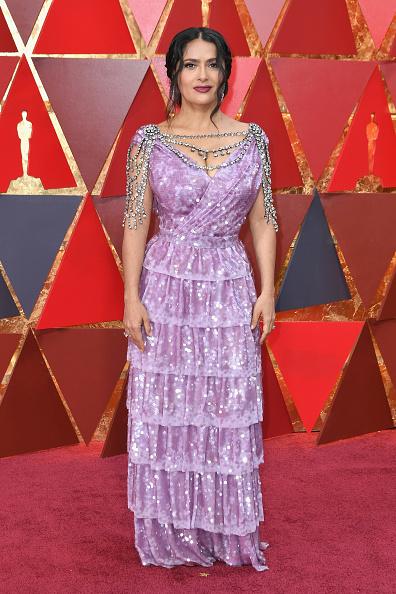 Salma Hayek「90th Annual Academy Awards - Arrivals」:写真・画像(10)[壁紙.com]