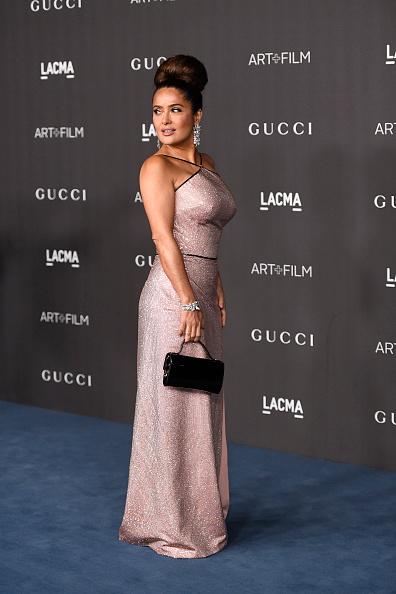 Metallic Dress「2019 LACMA Art + Film Gala Presented By Gucci - Arrivals」:写真・画像(12)[壁紙.com]