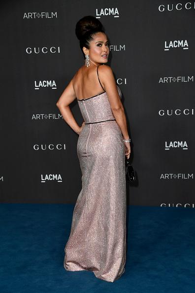 Metallic Dress「2019 LACMA Art + Film Gala Presented By Gucci - Arrivals」:写真・画像(16)[壁紙.com]