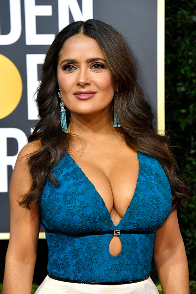 Salma Hayek「77th Annual Golden Globe Awards - Arrivals」:写真・画像(16)[壁紙.com]