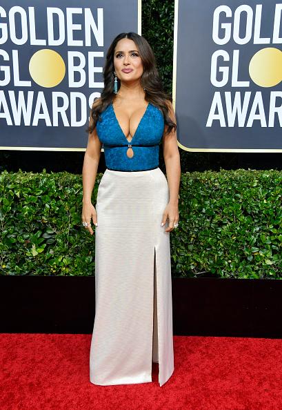 Salma Hayek「77th Annual Golden Globe Awards - Arrivals」:写真・画像(13)[壁紙.com]