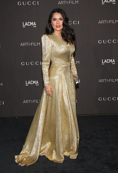 Gold Dress「2018 LACMA Art + Film Gala - Arrivals」:写真・画像(2)[壁紙.com]
