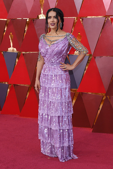 Salma Hayek「90th Annual Academy Awards - Arrivals」:写真・画像(12)[壁紙.com]