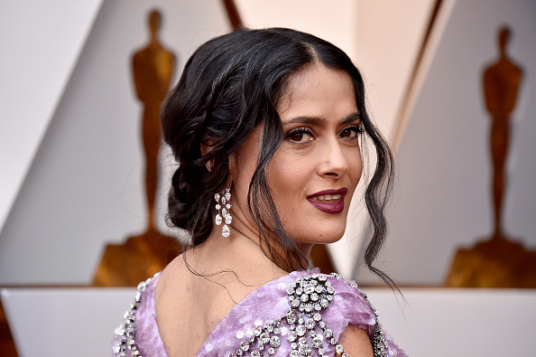 Salma Hayek「90th Annual Academy Awards - Arrivals」:写真・画像(3)[壁紙.com]
