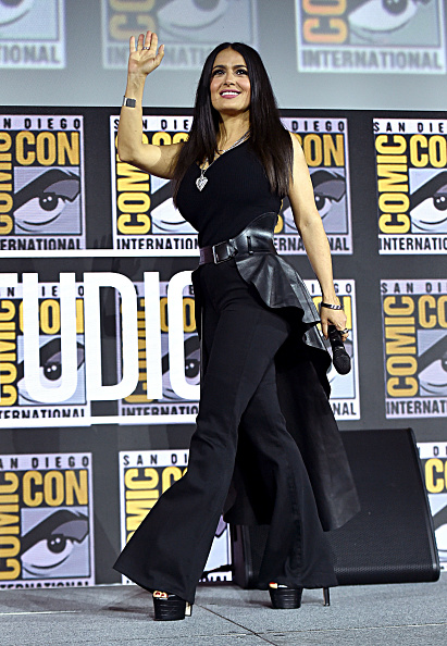 Salma Hayek「Marvel Studios Hall H Panel」:写真・画像(7)[壁紙.com]