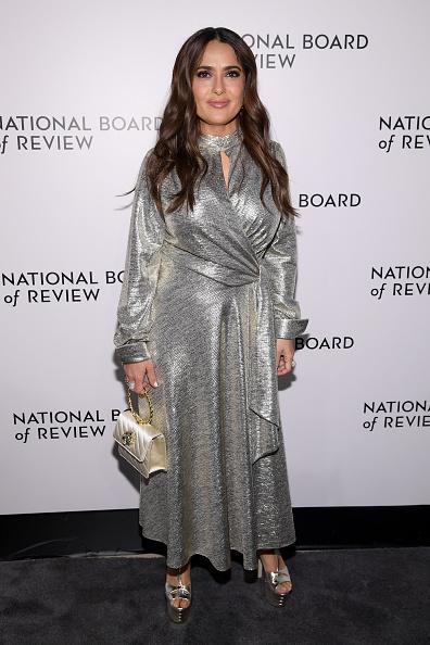 メタリックドレス「The National Board Of Review Annual Awards Gala - Arrivals」:写真・画像(13)[壁紙.com]