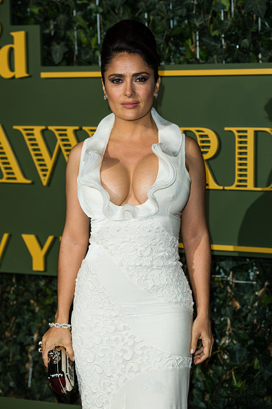 Salma Hayek「Evening Standard Theatre Awards - Red Carpet Arrivals」:写真・画像(1)[壁紙.com]