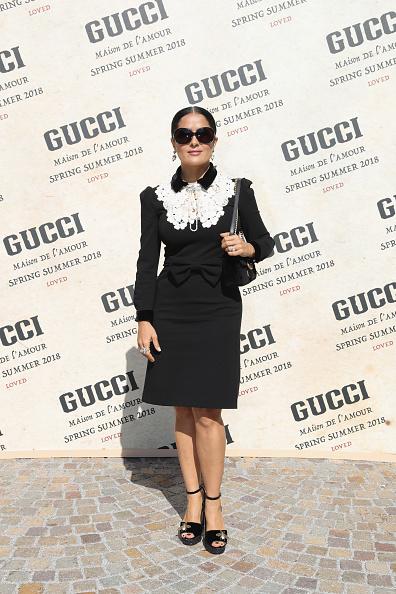Arrival「Gucci - Arrivals - Milan Fashion Week Spring/Summer 2018」:写真・画像(11)[壁紙.com]