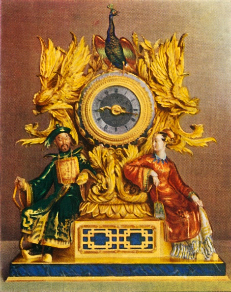 Old-fashioned「Clock By Vuilliamy (About 1800)」:写真・画像(15)[壁紙.com]
