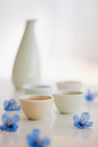 清酒「Tropical flowers and tea」:スマホ壁紙(12)