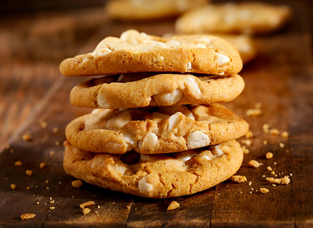 Macadamia Nut and White Chocolate Cookies:スマホ壁紙(壁紙.com)