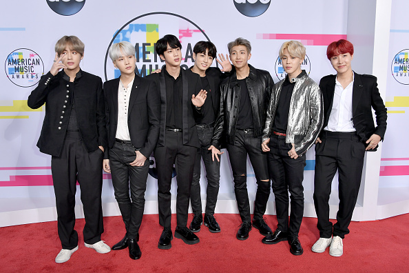 Bangtan Boys「2017 American Music Awards - Arrivals」:写真・画像(5)[壁紙.com]