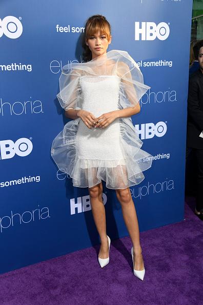 """Zendaya Coleman「LA Premiere Of HBO's """"Euphoria"""" - Arrivals」:写真・画像(7)[壁紙.com]"""