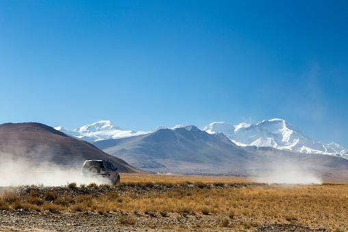 Himalayas「Road to Cho Oyu (8201m) base camp, Himalayas」:スマホ壁紙(12)