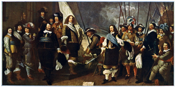 17th Century「Celebration at Amsterdam of Westphalian Peace」:写真・画像(14)[壁紙.com]