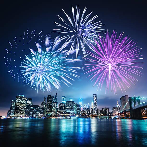 お祝いの日にニューヨーク市:スマホ壁紙(壁紙.com)