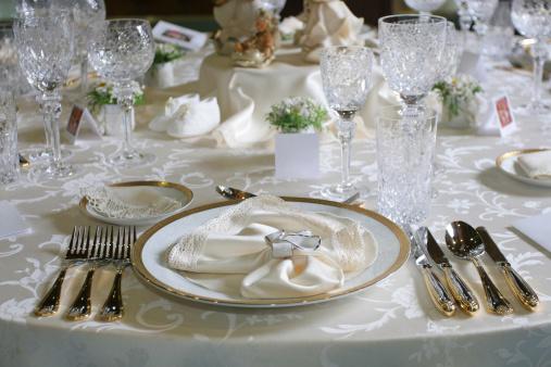 結婚「ウェディング用テーブルセッティング」:スマホ壁紙(3)