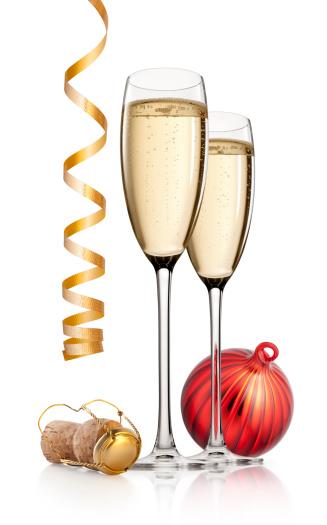 お正月「お祝います。新年に乾杯します。」:スマホ壁紙(4)