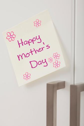 母の日「Adhesive note with Mother's Day greeting」:スマホ壁紙(8)