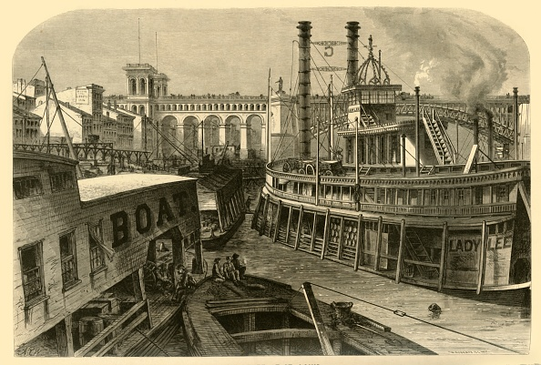 Missouri「The Levee At St Louis」:写真・画像(19)[壁紙.com]