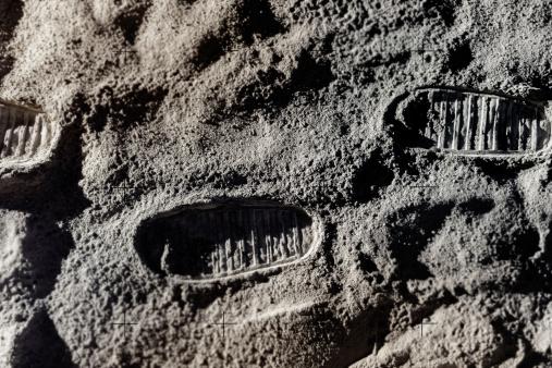 Water Surface「Footprints on Moon」:スマホ壁紙(5)