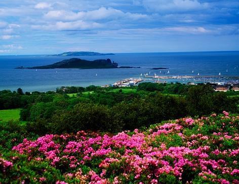 アイリッシュ海「View of Sutton, Co Dublin, Ireland」:スマホ壁紙(19)
