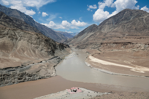 Himalayas「Indus river and valley, Ladakh, India」:スマホ壁紙(10)