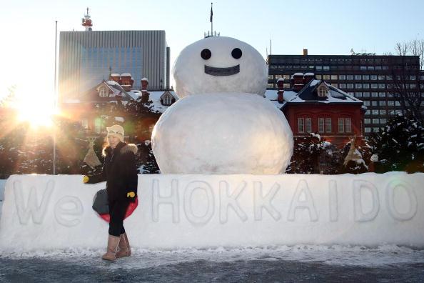 Mombetsu Ice Festival「Sapporo Snow Festival Preparation」:写真・画像(11)[壁紙.com]