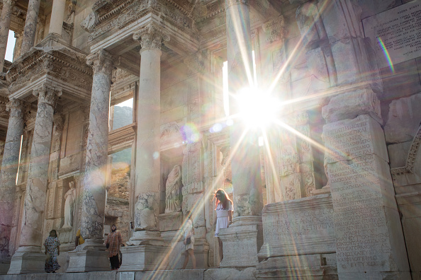 Chris McGrath「Turkey's Ephesus Continues To Draw Visitors As Tourism Industry Recovers」:写真・画像(12)[壁紙.com]