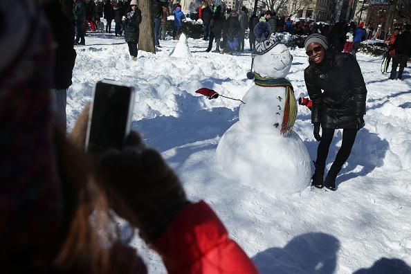 雪だるま「Huge Snow Storm Slams Into Mid Atlantic States」:写真・画像(18)[壁紙.com]