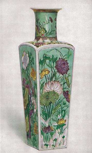 花瓶「Chinese Club-Shaped Vase Kang Hsi Period 1」:写真・画像(7)[壁紙.com]