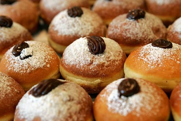 Traditional Food For The Jewish Festival Of Hanukkah:ニュース(壁紙.com)