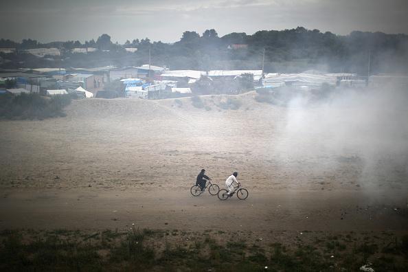 Calais「Calais Jungle Safe Haven For Child Refugees Faces Closure」:写真・画像(10)[壁紙.com]