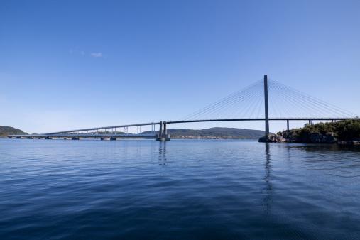 Suspension Bridge「Nordhordlandsbrua」:スマホ壁紙(17)