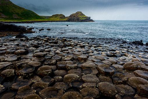 Basalt「Giants Causeway in Northern Ireland」:スマホ壁紙(18)