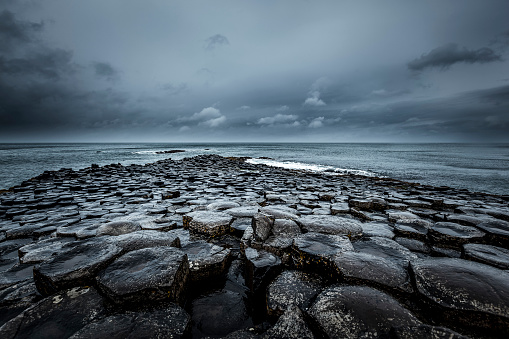 Irish Sea「giants causeway, northern ireland」:スマホ壁紙(0)