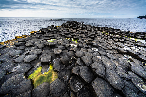 Basalt「Giants Causeway Rocks Northern Ireland」:スマホ壁紙(10)